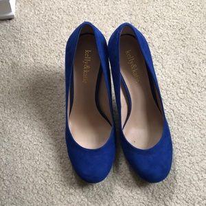 Kelly&Katie blue heels💙